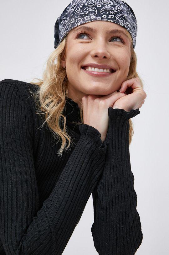 czarny Vila - Sweter z domieszką wełny