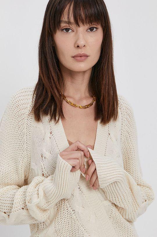 krémová Jacqueline de Yong - Kardigán
