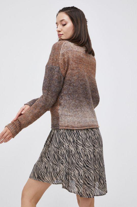 Only - Sweter z domieszką wełny 25 % Akryl, 33 % Poliester, 7 % Wełna, 35 % Poliester z recyklingu