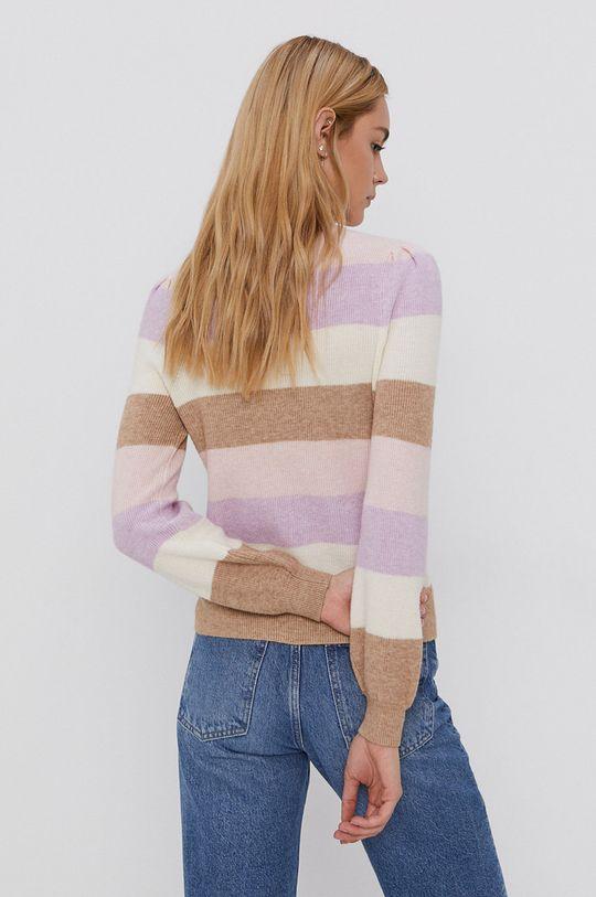 Only - Sweter 27 % Nylon, 23 % Poliester, 50 % Wiskoza