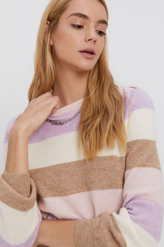 pastelowy różowy Only - Sweter