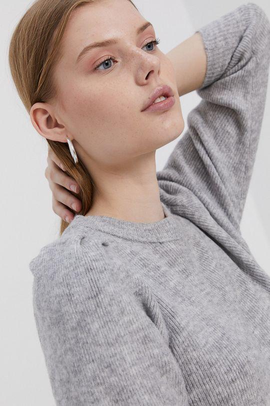 jasny szary Only - Sweter