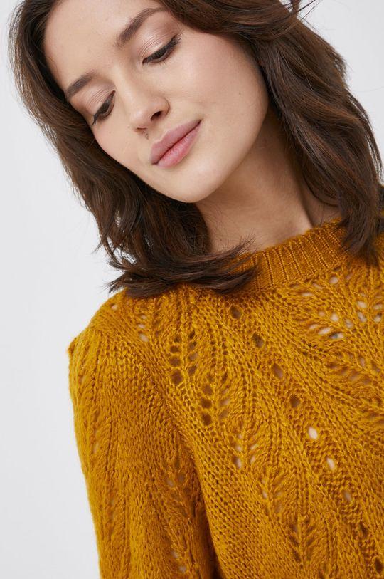 złoty brąz Vila - Sweter