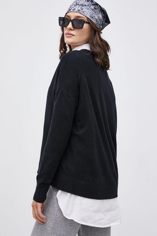 Only - Sweter 20 % Nylon, 30 % Poliester, 50 % Wiskoza