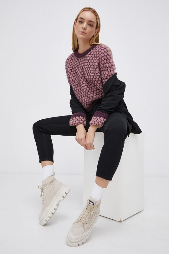 Only - Sweter fioletowy