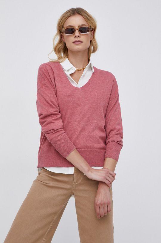 Only - Sweter różowy