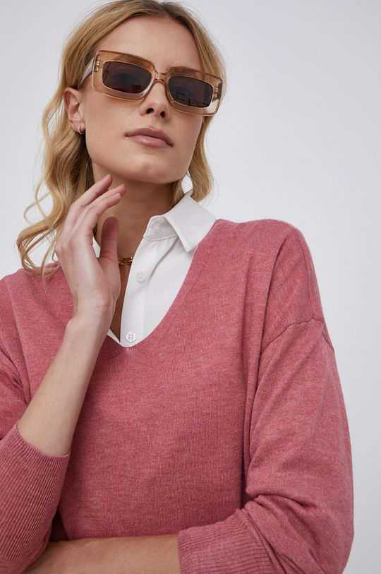 różowy Only - Sweter