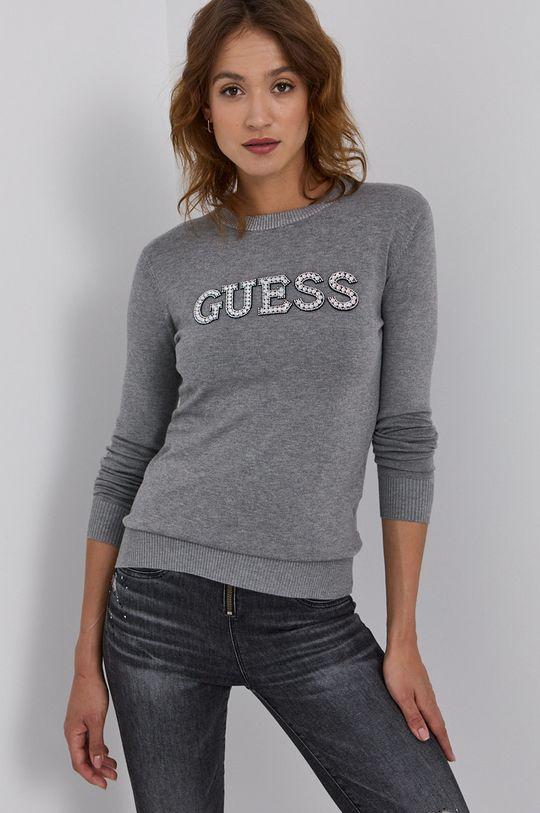jasny szary Guess - Sweter Damski