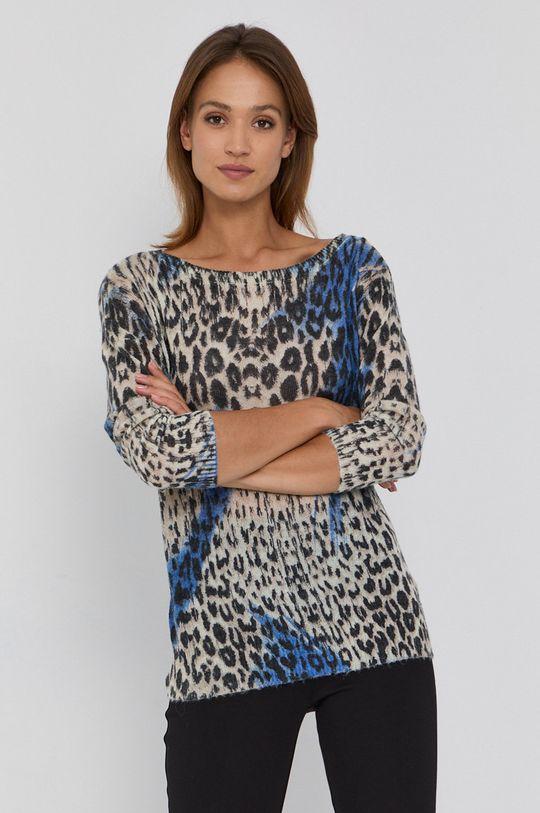 multicolor Guess - Sweter z domieszką wełny Damski