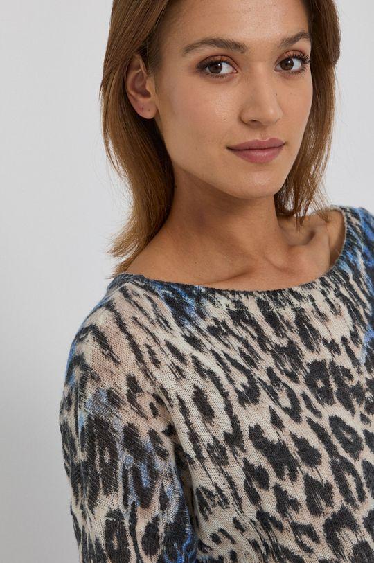 multicolor Guess - Sweter z domieszką wełny