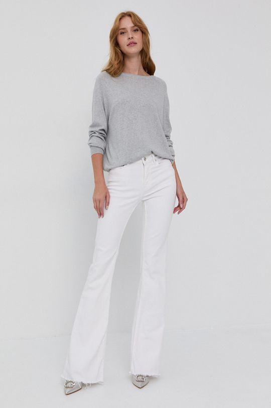 Guess - Sweter jasny szary