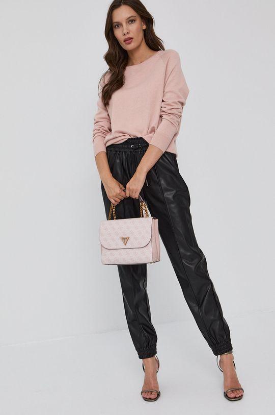 Guess - Sweter różowy