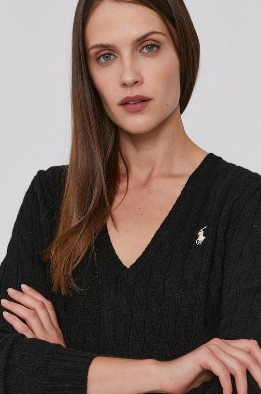 černá Polo Ralph Lauren - Vlněný svetr