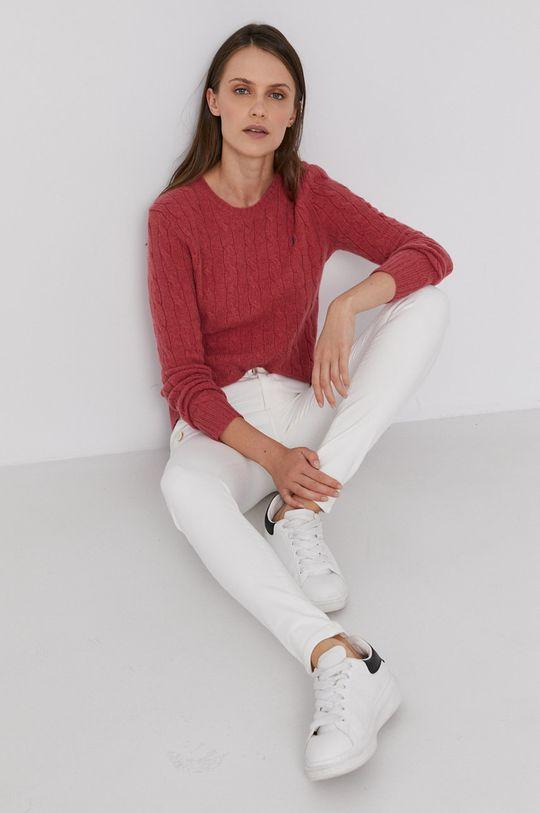 červená Polo Ralph Lauren - Vlněný svetr Dámský