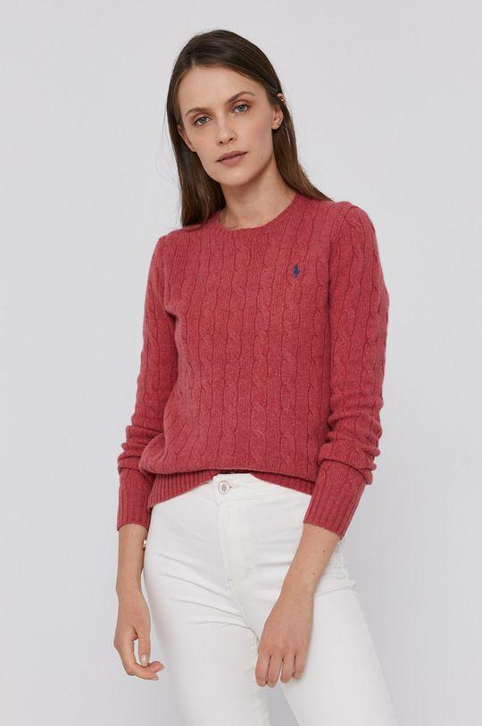 Polo Ralph Lauren - Vlněný svetr červená