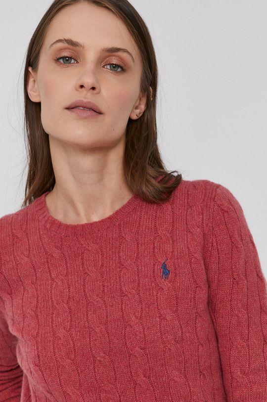 červená Polo Ralph Lauren - Vlněný svetr
