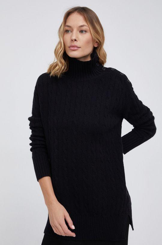 czarny Polo Ralph Lauren - Sweter wełniany Damski