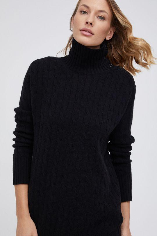 czarny Polo Ralph Lauren - Sweter wełniany