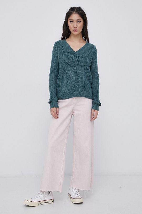 Jacqueline de Yong - Sweter zielony