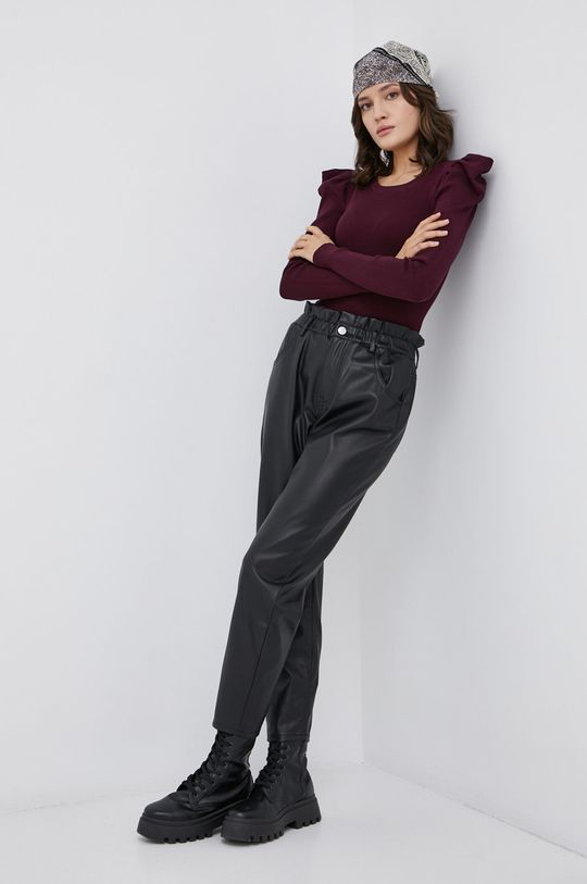 Jacqueline de Yong - Sweter fioletowy