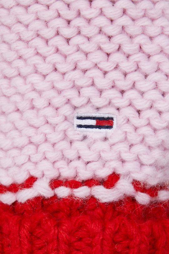 Tommy Jeans - Sweter z domieszką wełny Damski