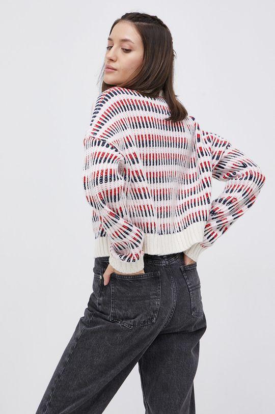 Tommy Jeans - Sweter z domieszką wełny 19 % Poliamid, 53 % Poliester, 28 % Wełna