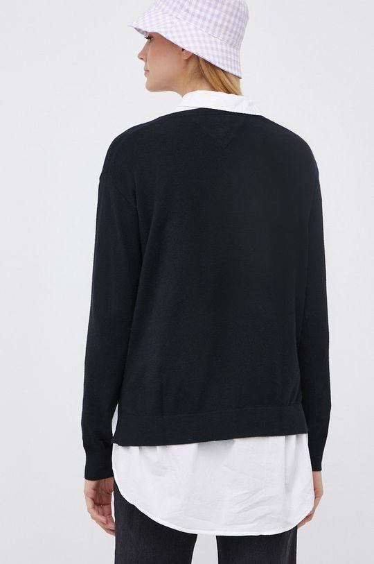 Tommy Jeans - Sweter 18 % Poliamid, 32 % Poliester, 50 % Wiskoza