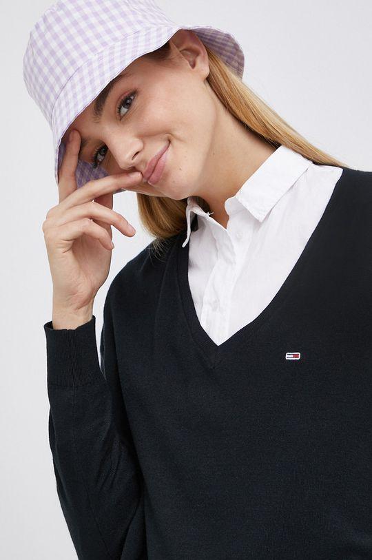 czarny Tommy Jeans - Sweter