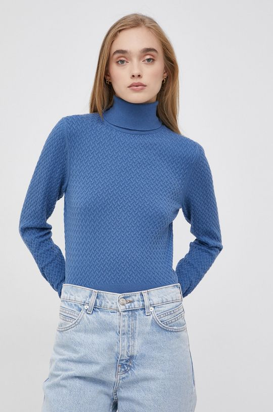 fioletowy Only - Sweter