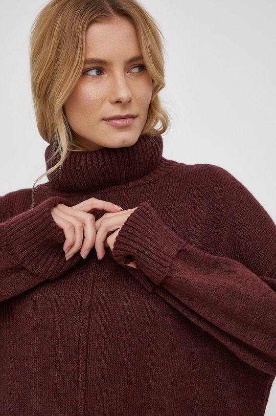 kasztanowy Only - Sweter