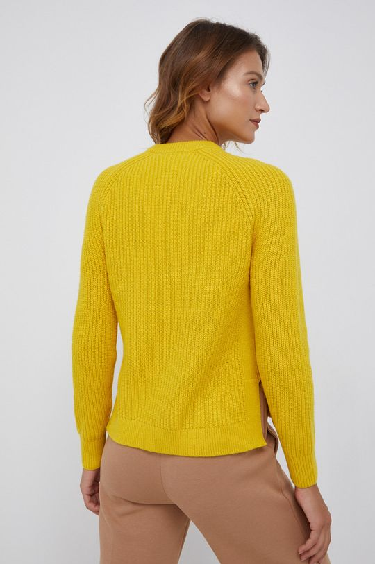 Calvin Klein - Sweter wełniany 25 % Poliamid, 15 % Poliester, 50 % Wełna, 10 % Wiskoza
