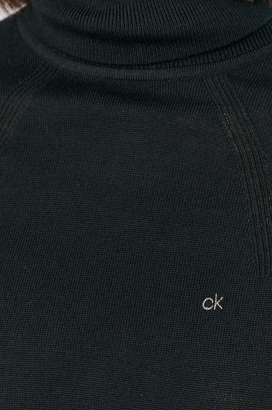 Calvin Klein - Sweter wełniany Damski