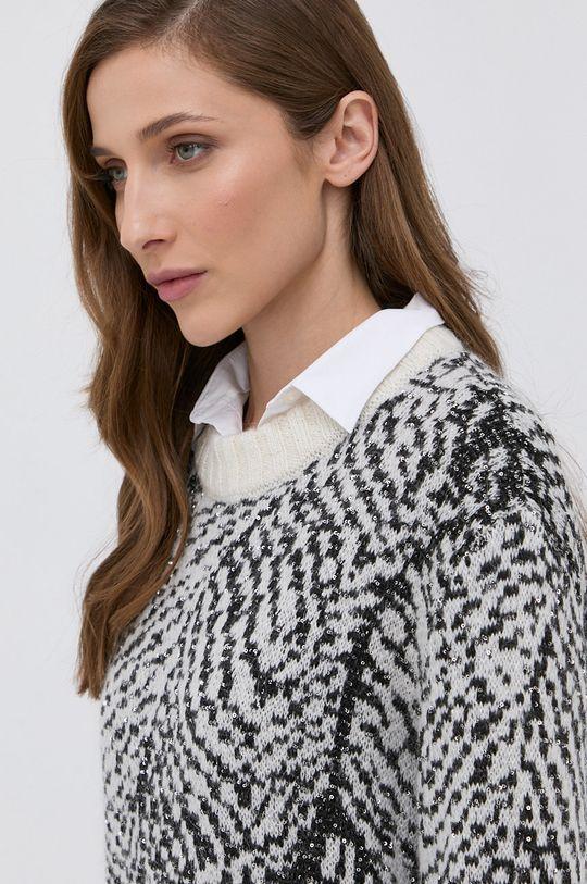 czarny Patrizia Pepe - Sweter z domieszką wełny