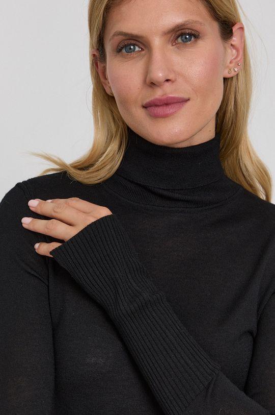 černá Patrizia Pepe - Vlněný svetr