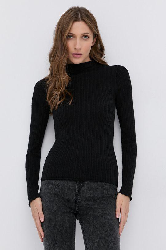 Guess - Sweter czarny