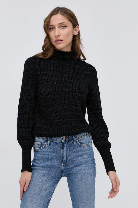 czarny Guess - Sweter z domieszką wełny Damski