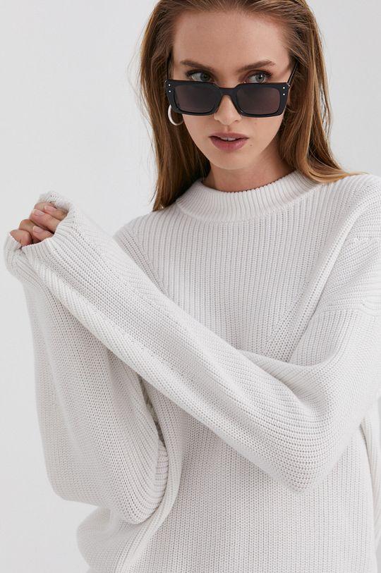 biały Hugo - Sweter