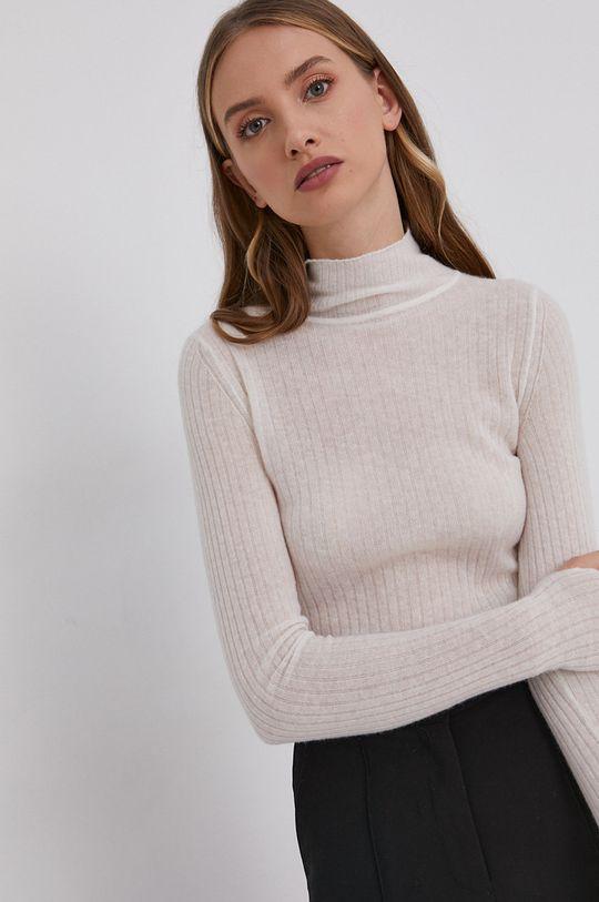 biały Hugo - Sweter z domieszką wełny