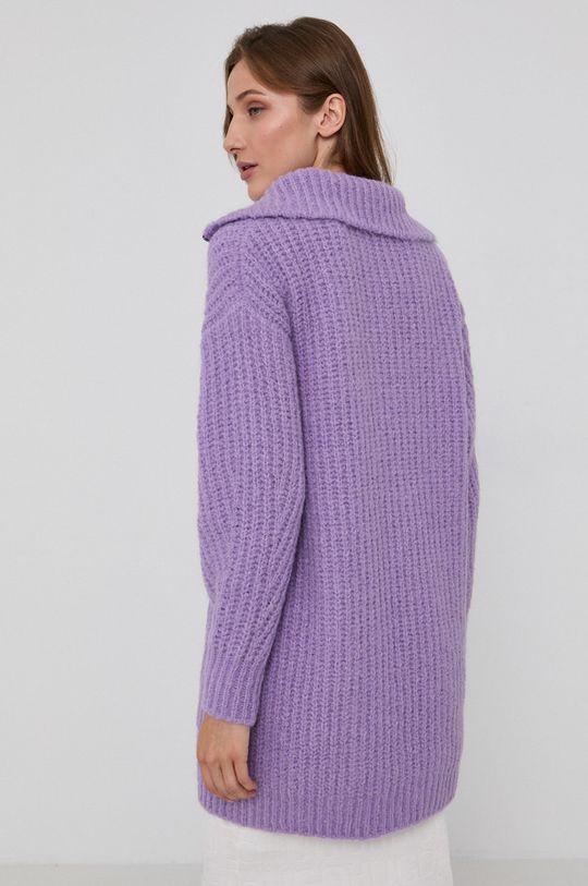 Hugo - Sweter z domieszką wełny 44 % Akryl, 12 % Poliamid, 9 % Wełna, 35 % Alpaka