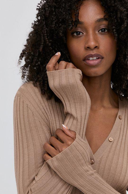 hnědá Miss Sixty - Vlněný svetr