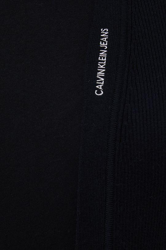 Calvin Klein Jeans - Kardigan z domieszką wełny Damski