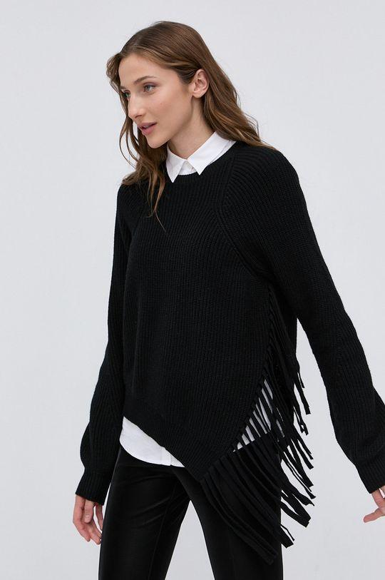 czarny Pinko - Sweter z domieszką wełny Damski