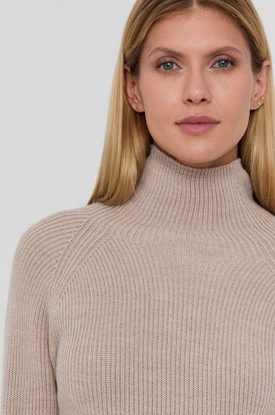 béžová Max Mara Leisure - Vlněný svetr