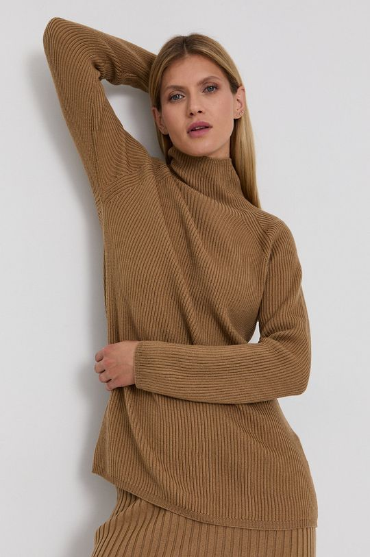 brązowy Max Mara Leisure - Sweter wełniany