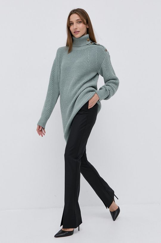 zielony Marciano Guess - Sweter z domieszką wełny Damski