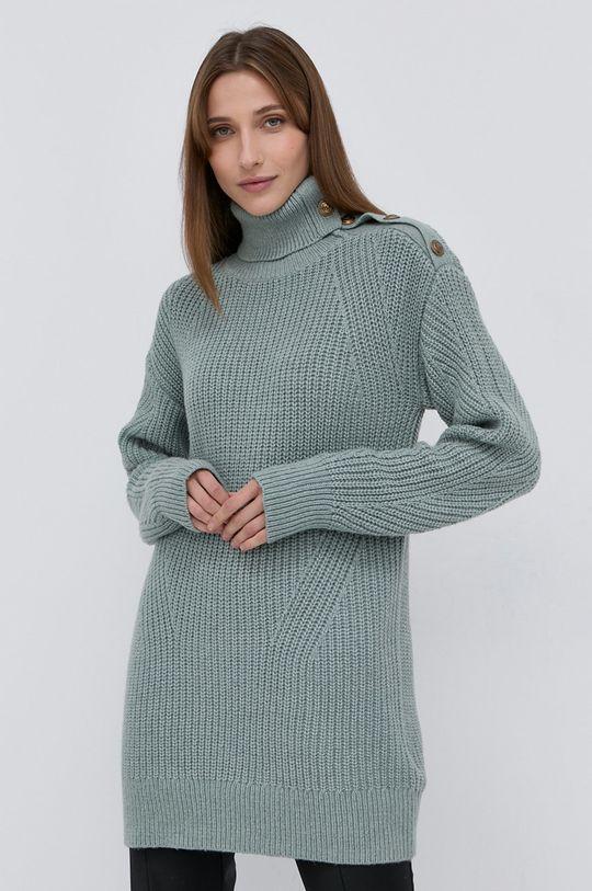 Marciano Guess - Sweter z domieszką wełny zielony
