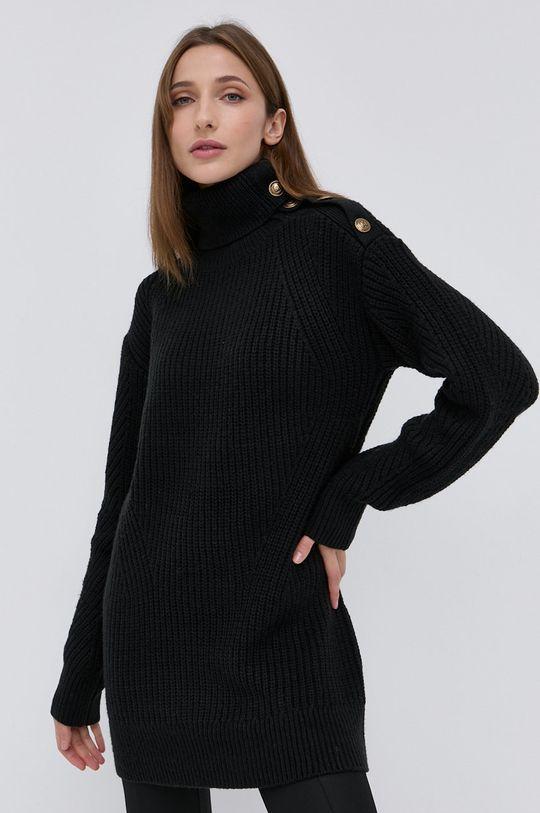 czarny Marciano Guess - Sweter z domieszką wełny Damski