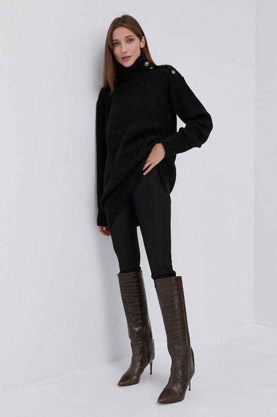 Marciano Guess - Sweter z domieszką wełny czarny