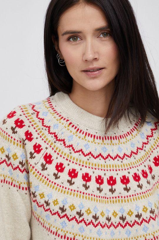multicolor Levi's - Sweter z domieszką wełny Damski
