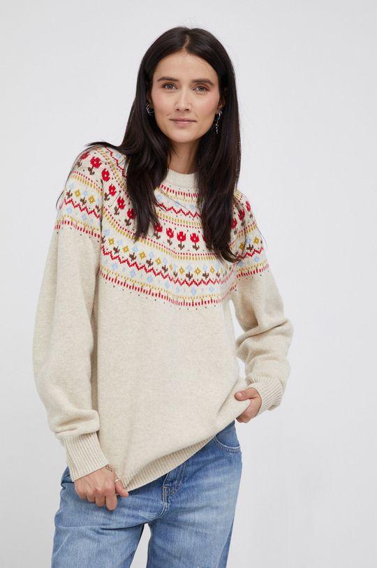 multicolor Levi's - Sweter z domieszką wełny